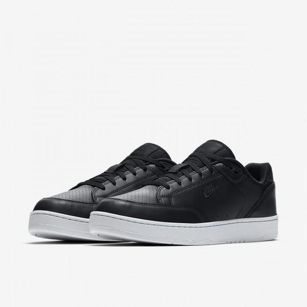 Nike Grandstand II Premium Freizeitschuhe Herren Schwarz Weiß 701-59458