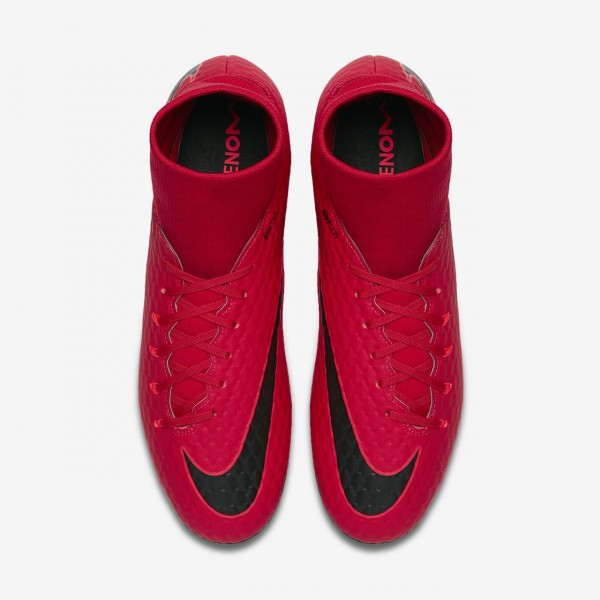 Nike Hypervenom Phelon 3 Dynamic Fit Ag-pro Fußballschuhe Herren Rot Schwarz 218-30497
