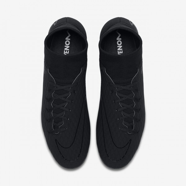 Nike Hypervenom Phelon 3 Dynamic Fit Ag-pro Fußballschuhe Herren Schwarz 941-37003