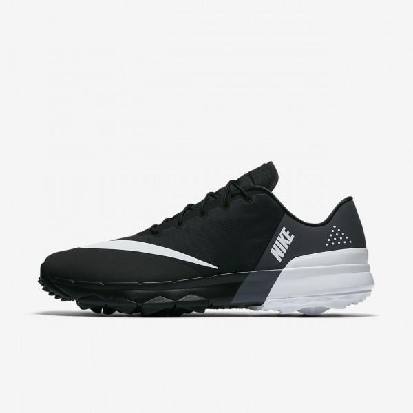 Nike Fi Flex Golfschuhe Herren Schwarz Weiß 583-7...