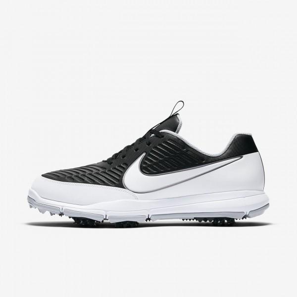 Nike Explorer 2 S Golfschuhe Herren Schwarz Metall...
