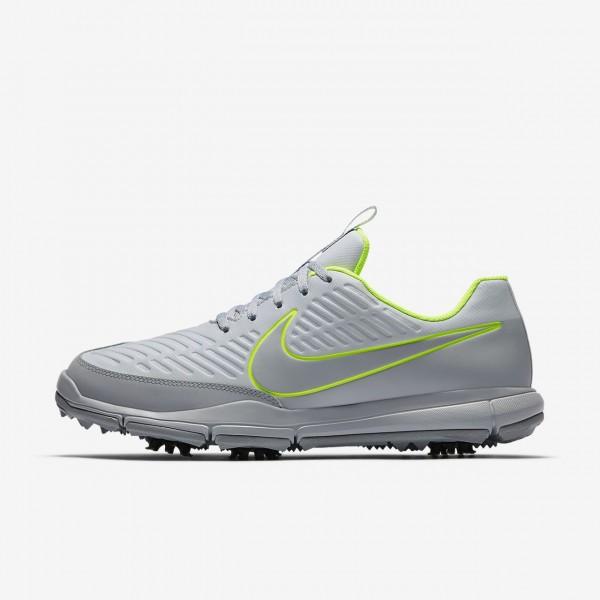 Nike Explorer 2 S Golfschuhe Herren Platin Grün G...