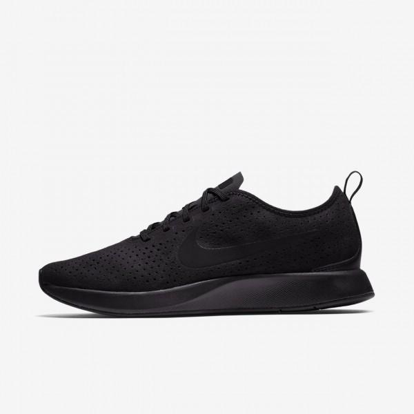 Nike Dualtone Racer Premium Freizeitschuhe Herren Schwarz 982-64879