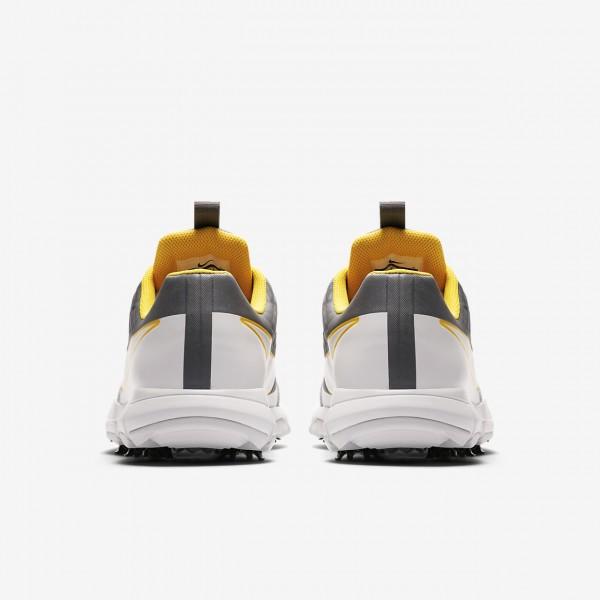 Nike Explorer 2 S Golfschuhe Herren Dunkelgrau Orange Platin 297-41338