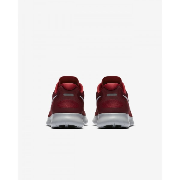 Nike Free Rn 2017 Laufschuhe Herren Rot Weiß 757-20576