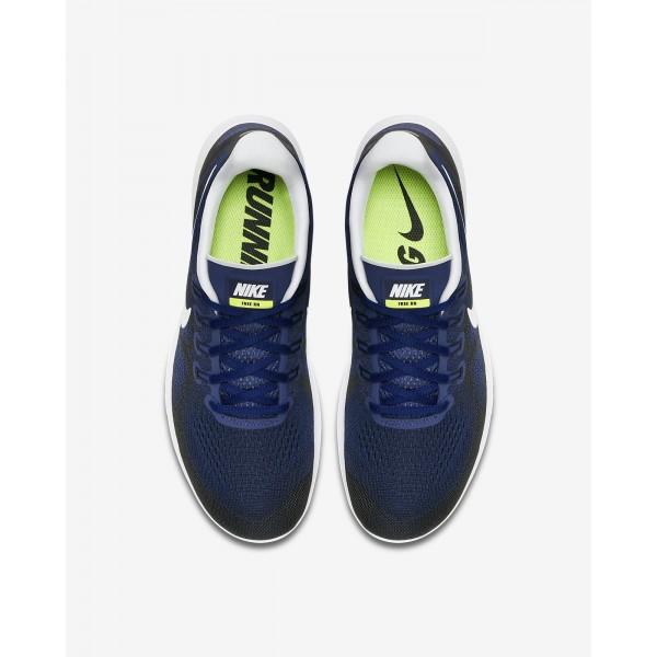 Nike Free Rn 2017 Laufschuhe Herren Blau Schwarz Grün Weiß 203-80445