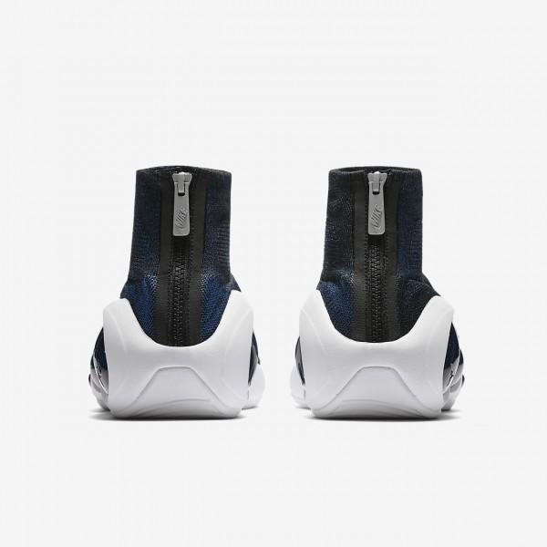 Nike Flight Bonafide Freizeitschuhe Herren Blau Weiß Schwarz 428-99299