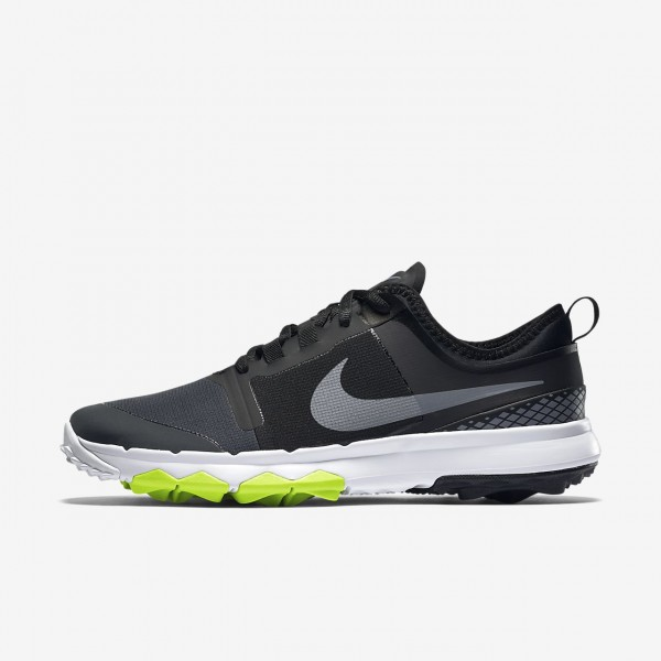 Nike Fi Impact 2 Golfschuhe Herren Schwarz Weiß G...