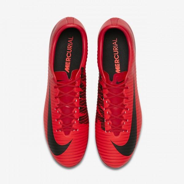 Nike Mercurial Veloce III Ag-pro Fußballschuhe Damen Rot Schwarz 561-21094