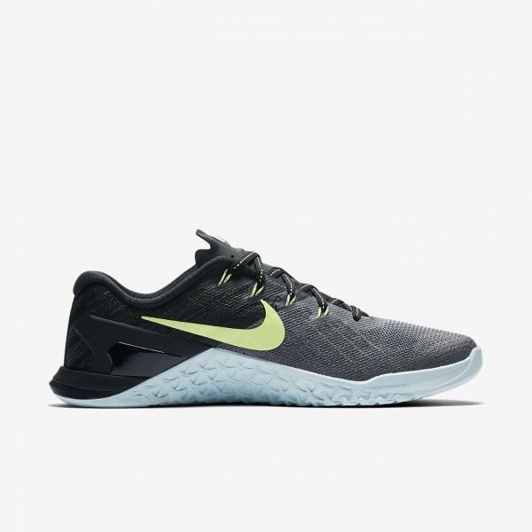 Nike Metcon 3 Trainingsschuhe Damen Dunkelgrau Blau Schwarz Grün 239-20258