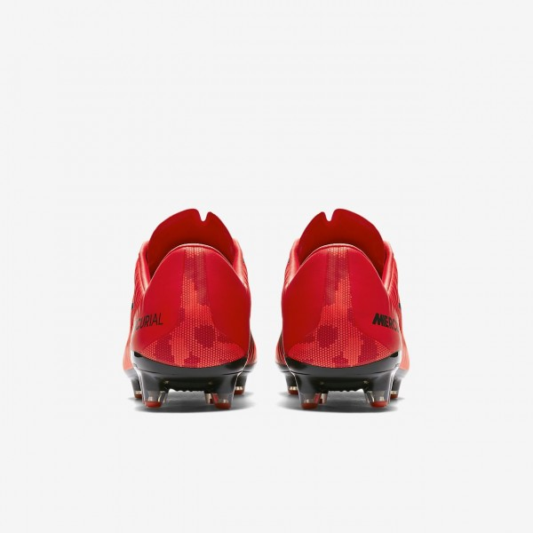 Nike Mercurial Vapor XI Ag-pro Fußballschuhe Damen Rot Schwarz 836-67423