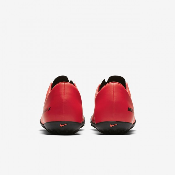 Nike Mercurial Victory VI Tf Fußballschuhe Damen Rot Schwarz 617-19367