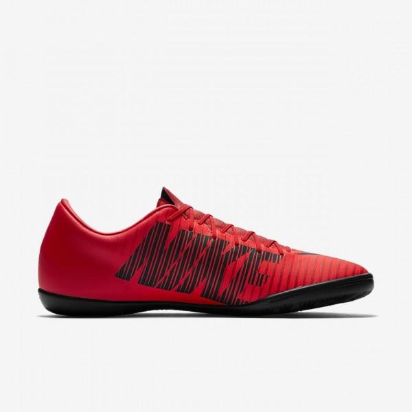 Nike Mercurial Victory VI Ic Fußballschuhe Damen Rot Schwarz 835-37840