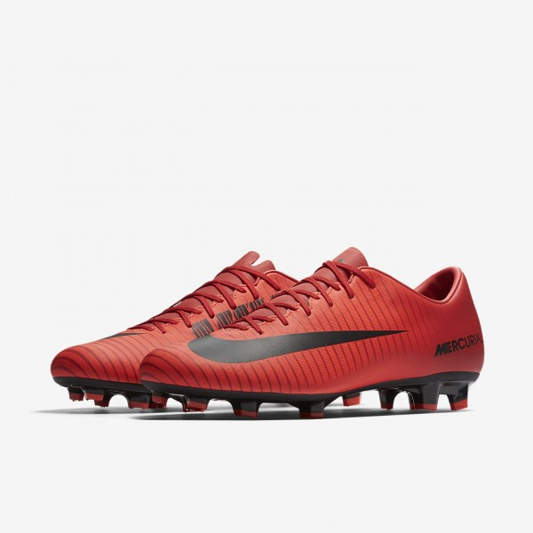 Nike Mercurial Victory VI Fg Fußballschuhe Damen Rot Schwarz 904-79567