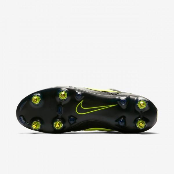 Nike Premier II Anti-clog Traction Sg-pro Fußballschuhe Damen Schwarz Grün 558-64647