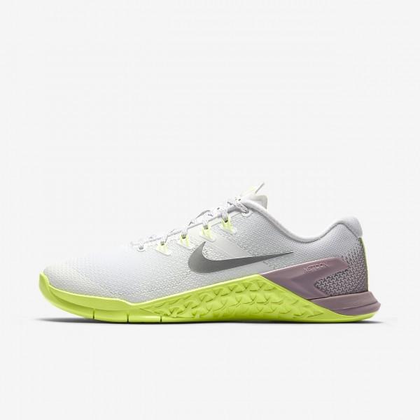 Nike Metcon 4 Trainingsschuhe Damen Weiß Rosa Gr�...