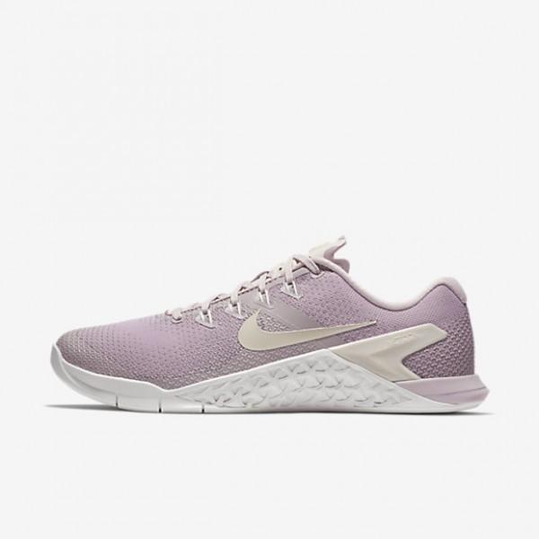 Nike Metcon 4 Trainingsschuhe Damen Rosa Weiß Bei...