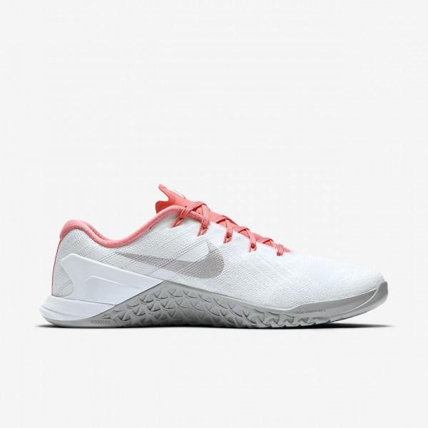 Nike Metcon 3 Trainingsschuhe Damen Rosa Weiß Lila 426-11676