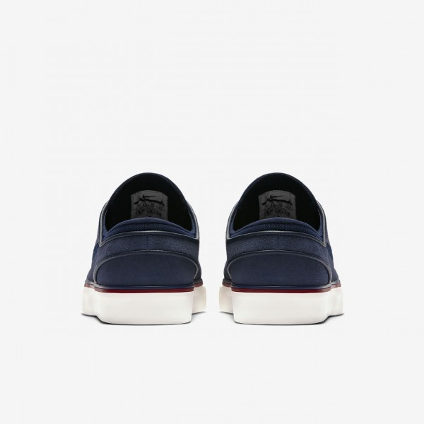 Nike Sb Air Zoom Stefan Janoski Skaterschuhe Damen Obsidian Rot Blau Dunkelobsidian 649-30361