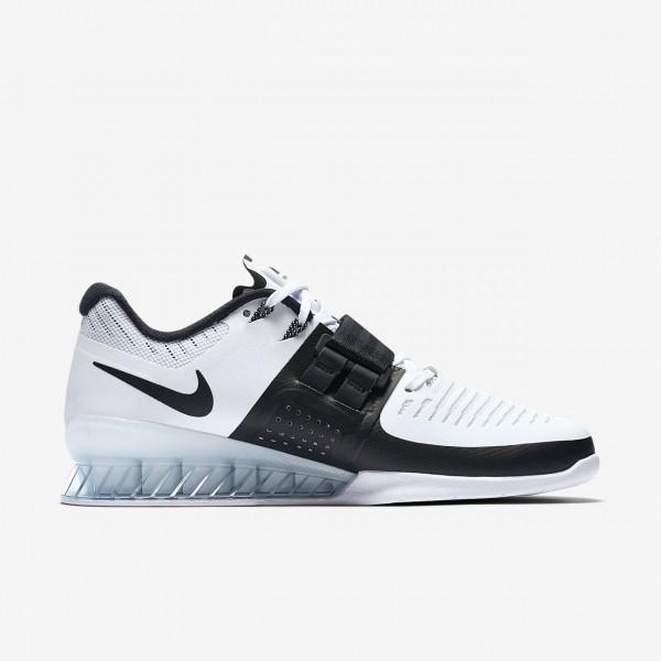 Nike Romaleos 3 Gewichtheberschuhe Damen Weiß Schwarz 820-65389
