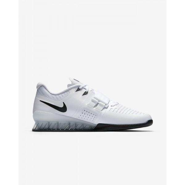 Nike Romaleos 3 Gewichtheberschuhe Damen Weiß Grün Schwarz 563-64654