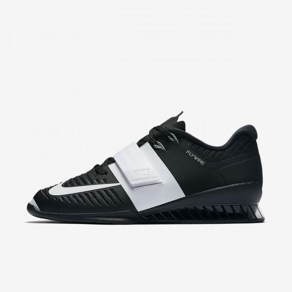 Nike Romaleos 3 Gewichtheberschuhe Damen Schwarz Weiß 268-17818