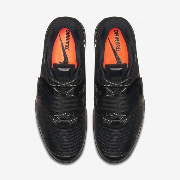 Nike Romaleos 3 Gewichtheberschuhe Damen Schwarz Rot 108-39435