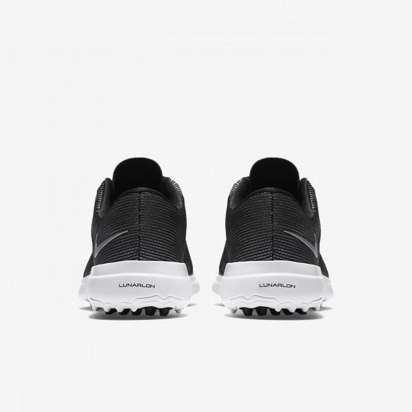 Nike Lunar Empress 2 Golfschuhe Damen Schwarz Weiß Metallic Silber 520-12001
