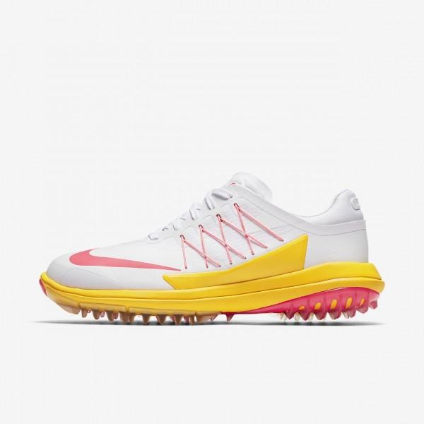 Nike Lunar Control Vapor Golfschuhe Damen Weiß Or...