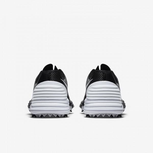 Nike Lunar Control 4 Golfschuhe Damen Schwarz Grau Weiß 594-75095