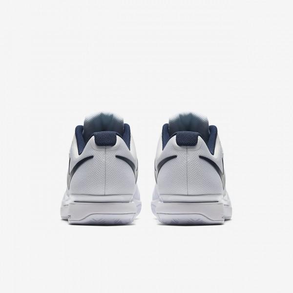 Nike Court Zoom Vapor 9 5 Tour Tennisschuhe Herren Weiß Blau 498-18661