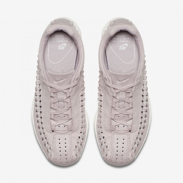 Nike Mayfly Woven Freizeitschuhe Damen Rosa Grau Weiß 897-63761
