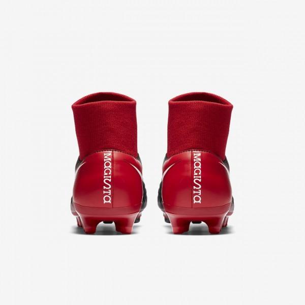 Nike Magista Onda II Dynamic Fit Fg Fußballschuhe Damen Schwarz Rot Weiß 990-52610
