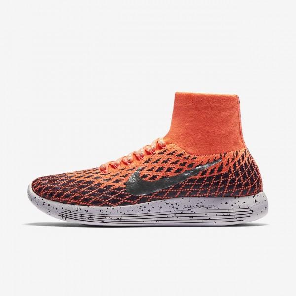 Nike Lunarepic Flyknit Shield Laufschuhe Damen Ora...