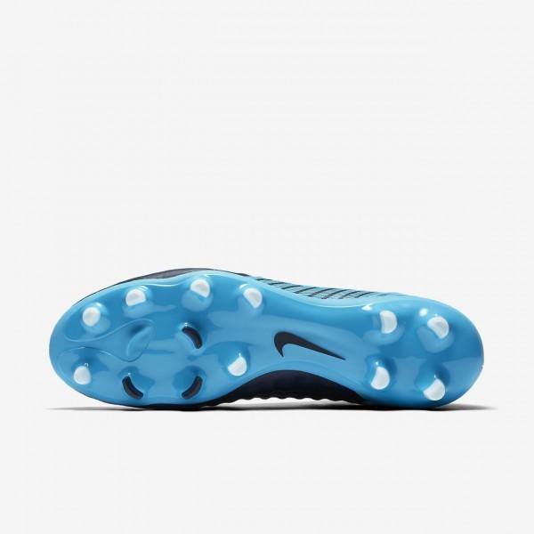 Nike Magista Onda II Dynamic Fit Fg Fußballschuhe Damen Obsidian Blau Weiß 450-66829