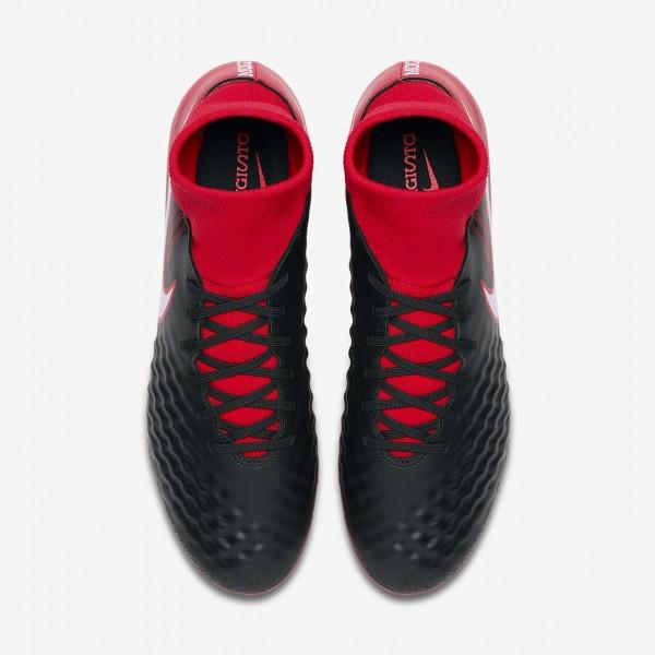 Nike Magista Onda II Dynamic Fit Ag-pro Fußballschuhe Damen Schwarz Rot Weiß 896-31091