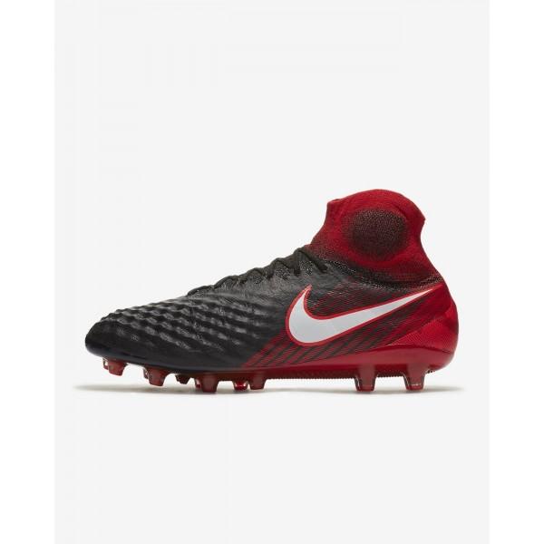 Nike Magista Obra II Ag-pro Fußballschuhe Damen Schwarz Rot Weiß 694-16135