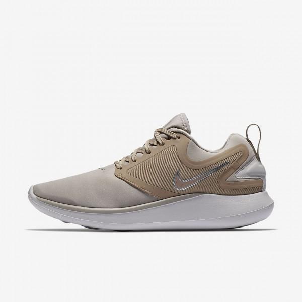 Nike Lunarsolo Laufschuhe Damen Weiß Grau Sand 94...