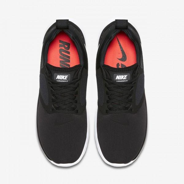 Nike Lunarsolo Laufschuhe Damen Schwarz Weiß 287-54393