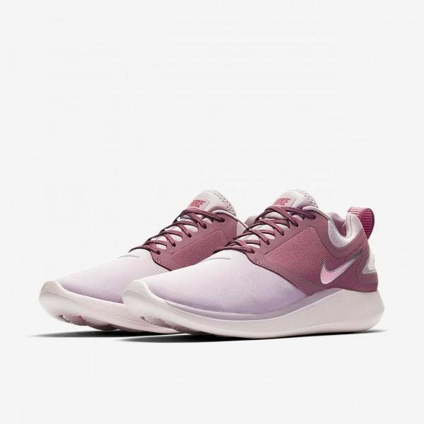 Nike Lunarsolo Laufschuhe Damen Rosa Rot Pink 309-24978