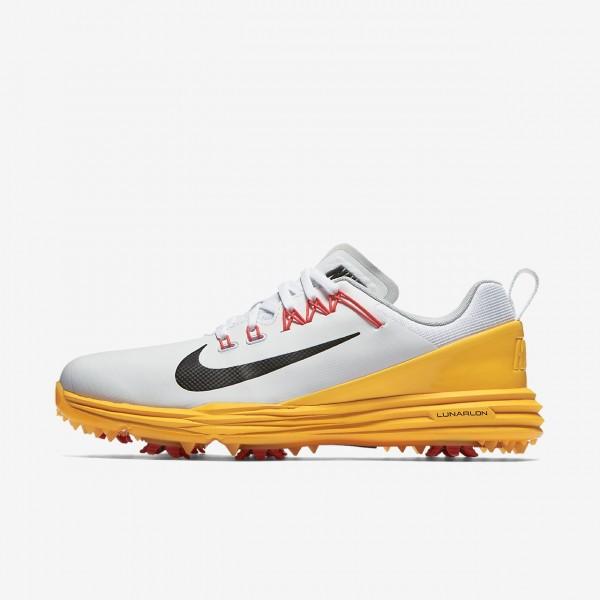 Nike Lunar Command 2 Golfschuhe Damen Weiß Orange...