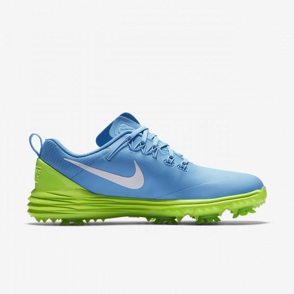 Nike Lunar Command 2 Golfschuhe Damen Blau Grün Weiß 414-26504