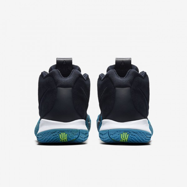 Nike Kyrie 4 Basketballschuhe Damen Dunkelobsidian Schwarz 725-95617