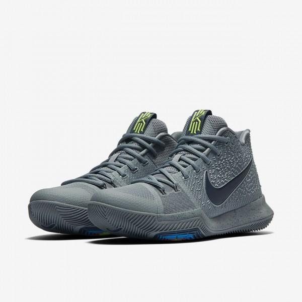 Nike Kyrie 3 Basketballschuhe Damen Grau Blau Navy 697-57421