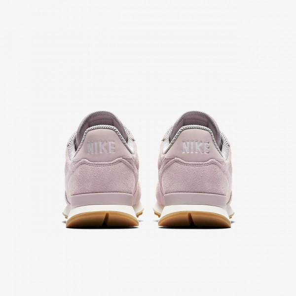 Nike Internationalist Se Freizeitschuhe Damen Rosa Grau Weiß 743-94838