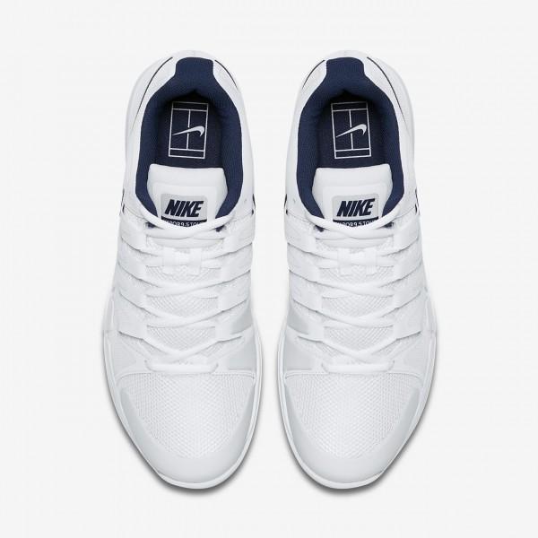 Nike Court Zoom Vapor 9 5 Tour Carpet Tennisschuhe Herren Weiß Blau 339-87564