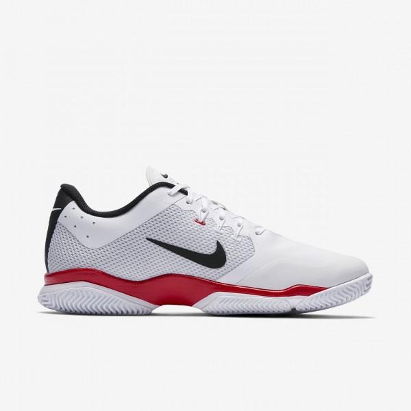 Nike Court Air Zoom Ultra Tennisschuhe Herren Weiß Rot Schwarz 246-96451