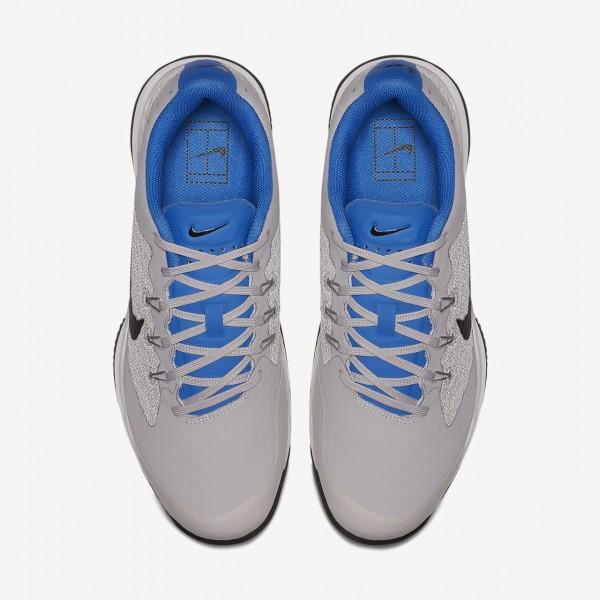 Nike Court Air Zoom Ultra Tennisschuhe Herren Weiß Blau Schwarz 480-20441