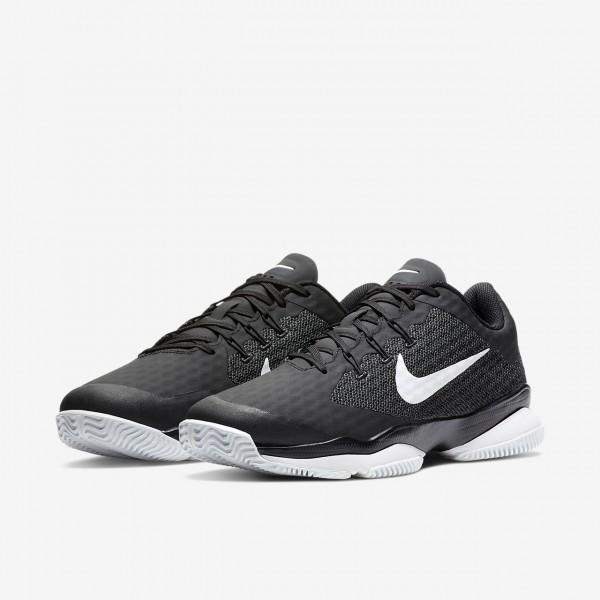 Nike Court Air Zoom Ultra Tennisschuhe Herren Schwarz Weiß 720-52653