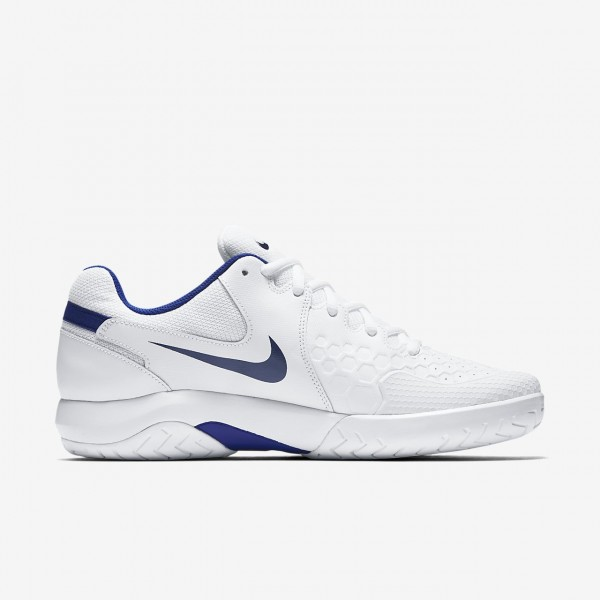 Nike Court Air Zoom Resistance Tennisschuhe Herren Weiß Blau 577-35769